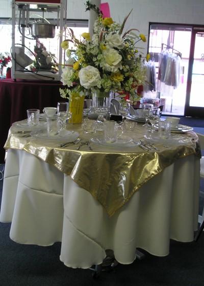 Amazing Tissue Lameu0027 Table Cloth
